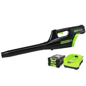 Greenworks PRO GBL80300 500CFM Cordless Leaf Blower